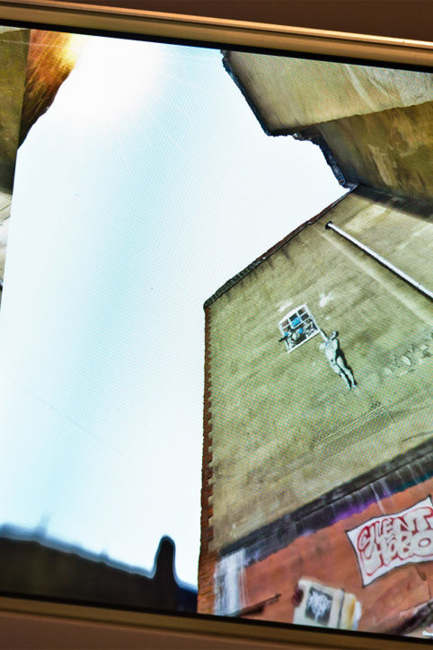 Zubr 3D scanned Bristol Banksy piece in virtual reality