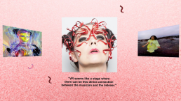 Zubr Bjork web VR experience for Google Cardboard