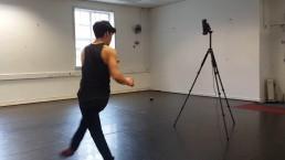 Zubr dance piece being captured into volumetric video