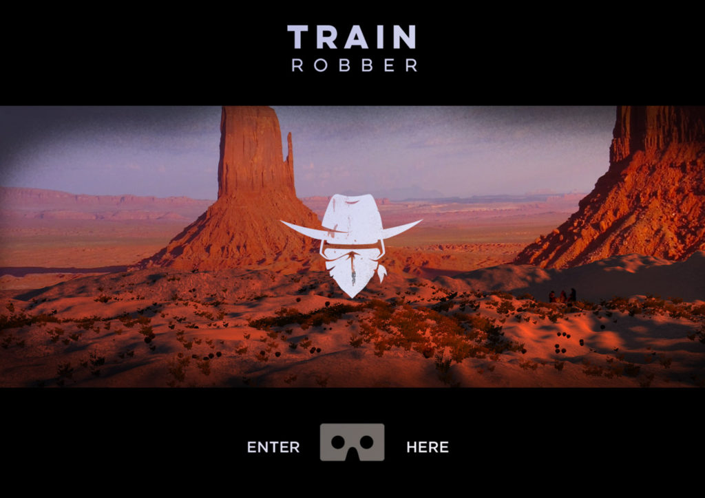 VRLA Trainrobber Augmented Mixed reality demo