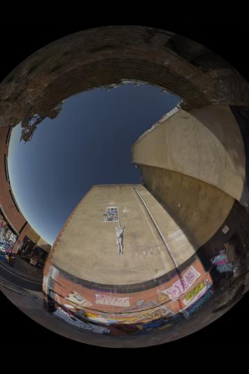 Zubr Bristol Data Dome fulldome 360 planetarium projection