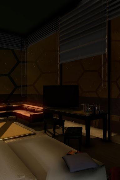 Zubr Chillblast Luxury Hotel virtual reality experience