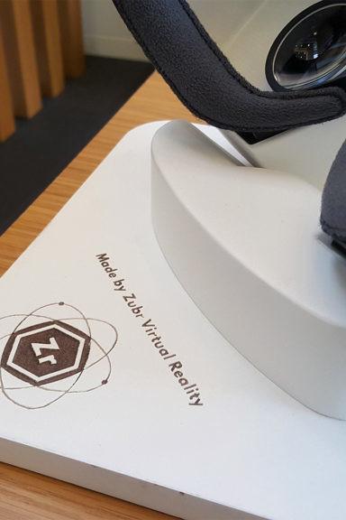 Zubr custom Gear VR headset fabrication