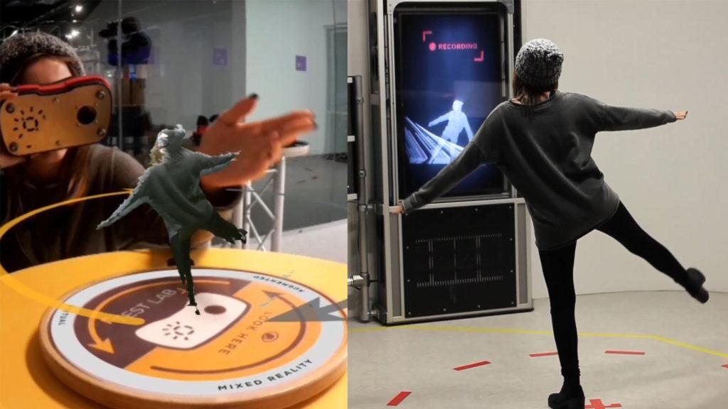 Zubr and At-Bristol VR Lab augmented volumetric video installation