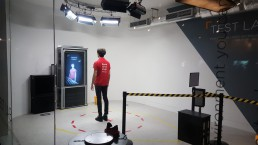 Zubr We The Curious Volumetric Video 3D scanning installation VR Lab