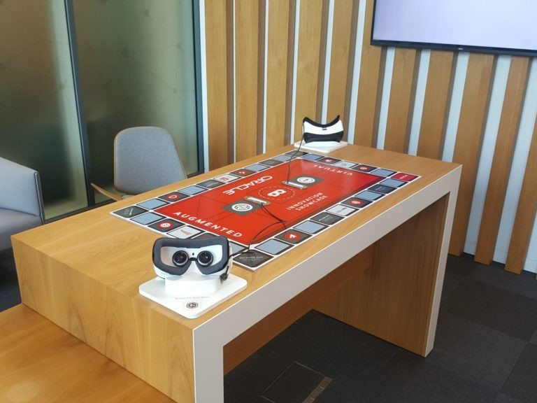 Zubr Augmented Virtual reality experience for Oracle Corporation