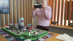 Zubr Augmented Virtual reality experience for Oracle Corporation with modified Gear VR headset