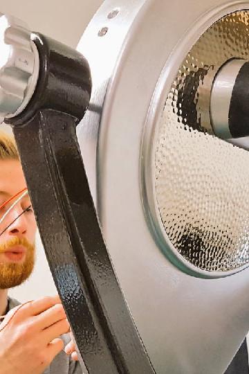 Zubr fabrication of augmented reality binoculars