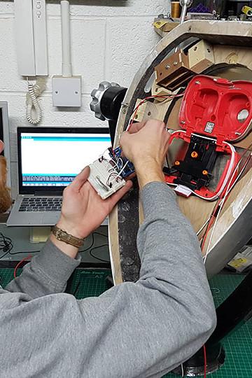 Zubr augmented reality binoculars hardware fabrication