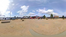 Zubr 360 image of Cardiff Bay
