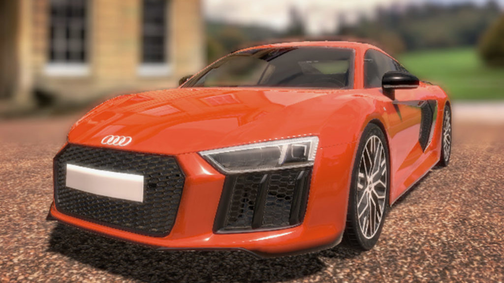 Zubr virtual reality audi car showroom