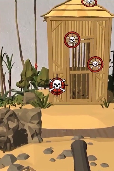 Zubr augmented reality pirate cannon game for kids