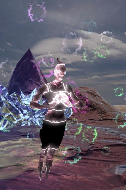 virtual avatar music artist dance performance