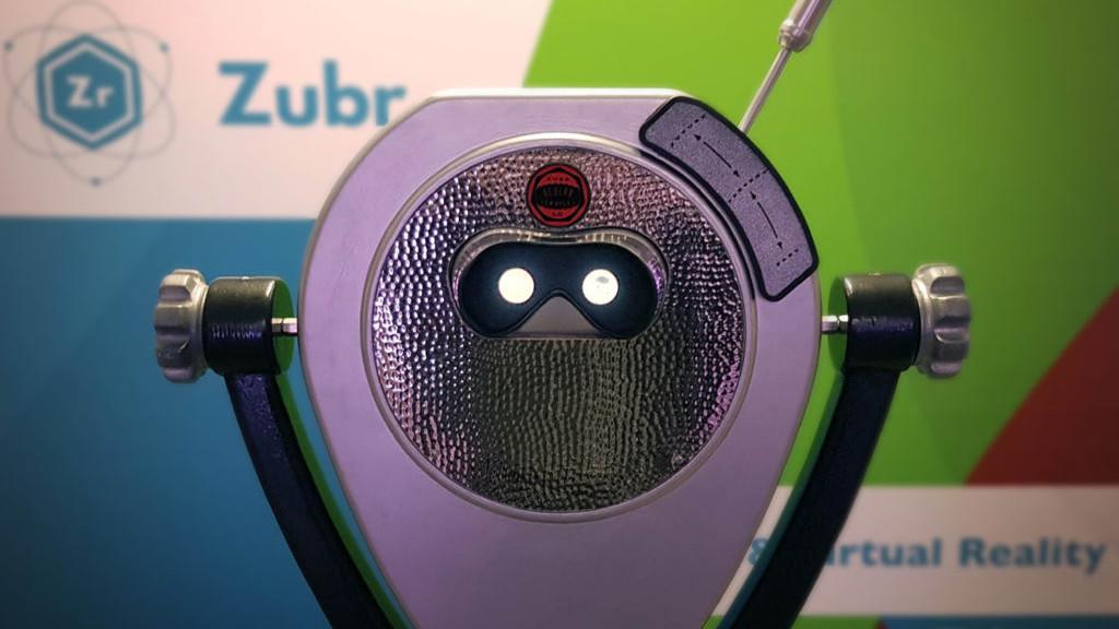 Zubr augmented reality binoculars