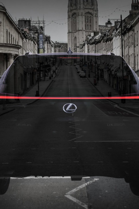 Lexus social media marketing campaign augmented reality filter made by Zubr