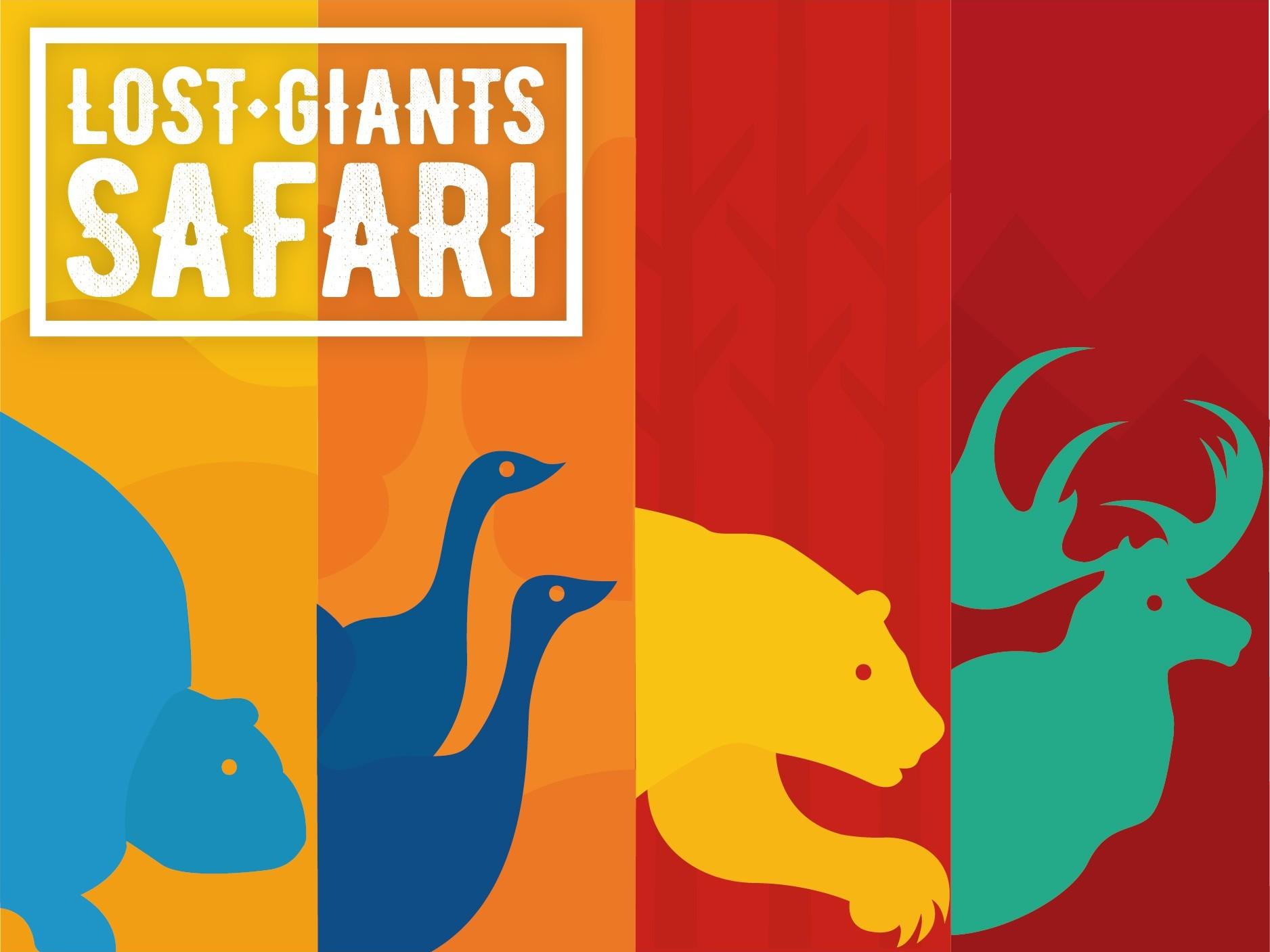 Zubr VR Safari adventure animals poster