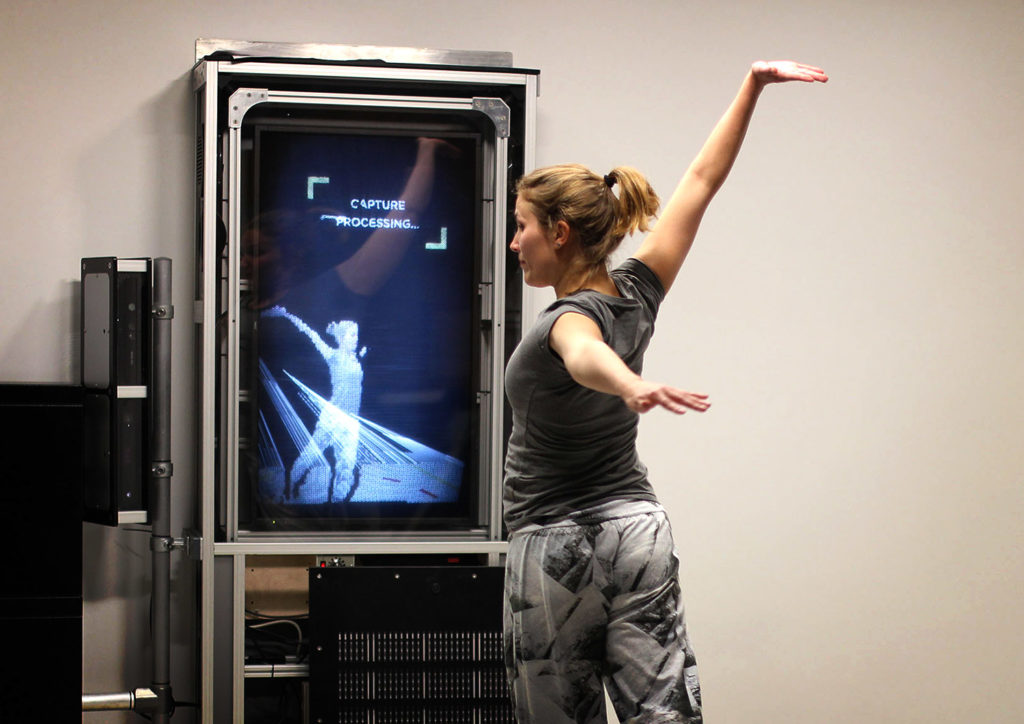 We the Curious Virtual reality volumetric video capture studio by Zubr