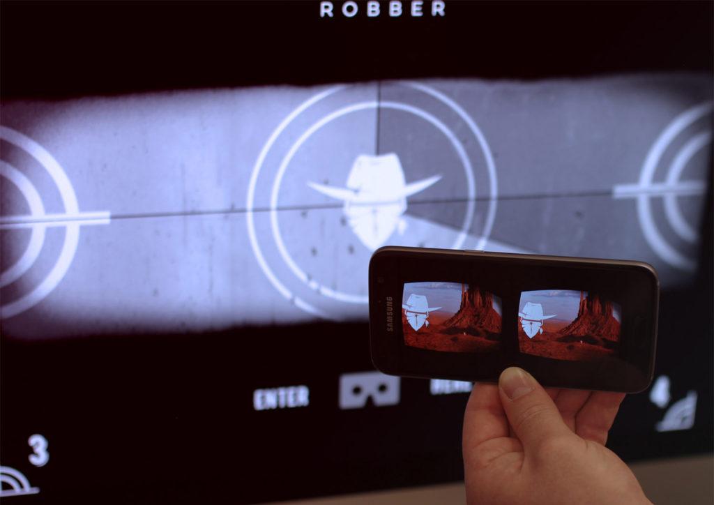 Zubr virtual reality google cardboard VRScout Event Los Angeles